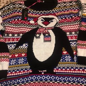 "Penguin ""Ugly Christmas Sweater"""